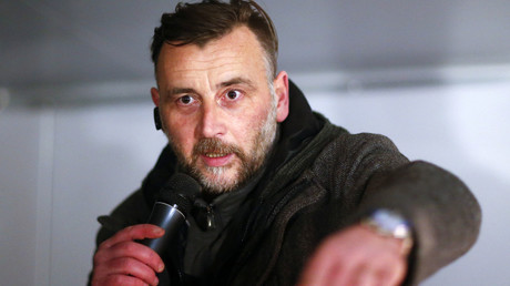 Lutz Bachmann of anti-immigration group PEGIDA, a German abbreviation for