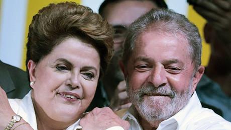 Former president Luiz Inacio Lula da Silva and Brazilian President Dilma Rousseff. ©Reuters