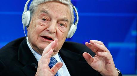 Georges Soros, Chairman of Soros Fund Management © Ruben Sprich
