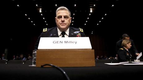 U.S. Army General Mark Milley © Jonathan Ernst
