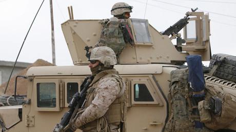 U.S. Marines, Baghdad, Iraq © Erik de Castro