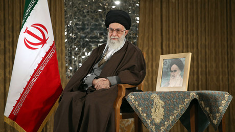 Iran's supreme leader Ayatollah Ali Khamenei on March 20, 2016 © Khamenei.IR