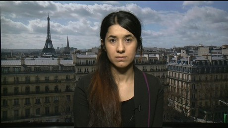 Nadia Murad survived being an IS slave. © RT