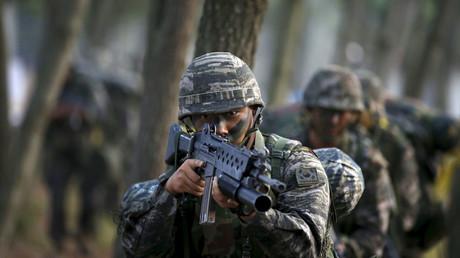 South Korean Marines. © Kim Hong-Ji