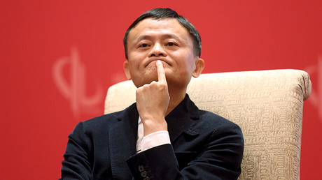 Founder and Executive Chairman of Alibaba Group Jack Ma © Shu Zhang