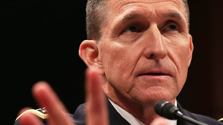 Lt. Gen. Michael Flynn. © Alex Wong / Getty Images / AFP