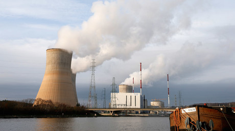 General view of the Tihange nuclear plant of Electrabel, the Belgian unit of French company Engie, former GDF Suez, in Tihange, Belgium. © Francois Lenoir