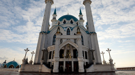 The Qolsarif Mosque at the Kazan Kremlin Museum-Reserve in Tatarstan. © Maksim Bogodvid