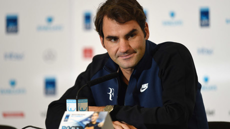 Roger Federer © Tony O'Brien