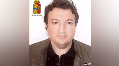 Algerian Djamal Eddine Ouali, 40, is seen in this handout picture released by Italian police on March 27, 2016. © Italian Police