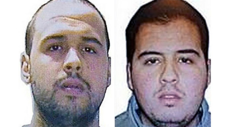 Khalid (L) and Ibrahim (R) El Bakraoui, the two Belgian brothers identified as the suicide bombers who struck Brussels on March 22, 2016 © Interpol