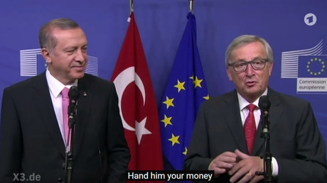 Turkey President Erdogan files complaint over satirical poem by German comedian
