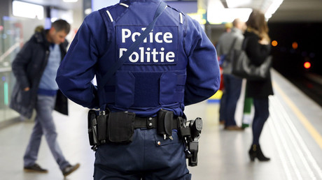A Belgian police officer © Yves Herman