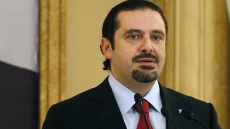 Lebanon's former prime minister Saad al-Hariri © Mohamed Azakir