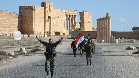 Ancient Palmyra after the city's liberation from terrorists. Mikhail Voskresenskiy © Mikhail Voskresenskiy