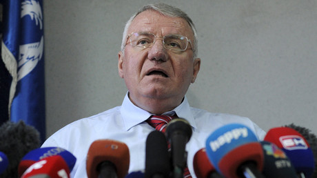 Serbian nationalist leader Vojislav Seselj © Stringer