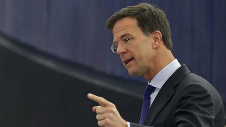 The Netherland's Prime Minister Mark Rutte. ©Vincent Kessler