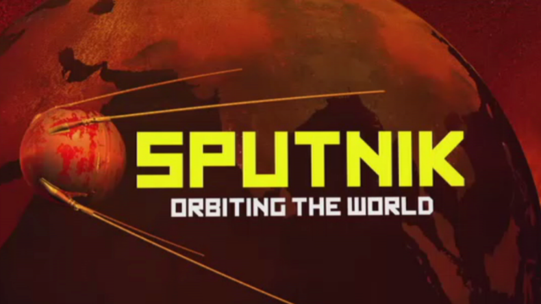 Sputnik Orbiting the World
