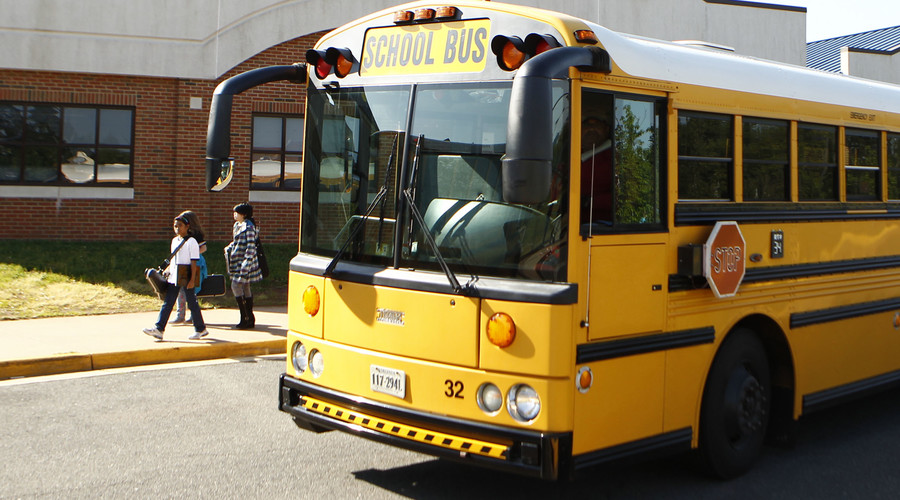 CIA leaves explosives on school bus borrowed for training
