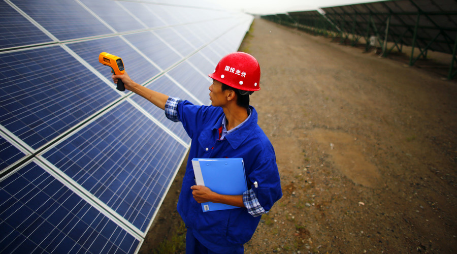 China proposes $50tn global renewable energy network