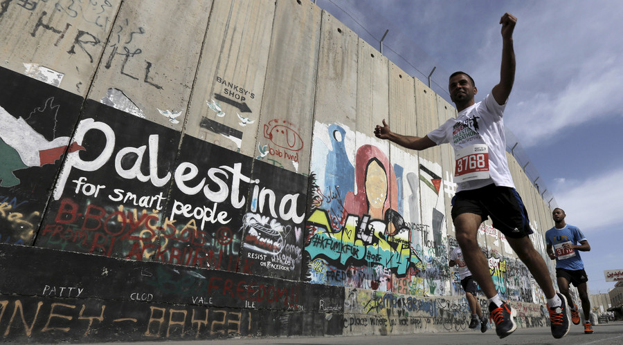 Going nowhere: Israel bars over 100 Gaza athletes from running in Palestinian marathon
