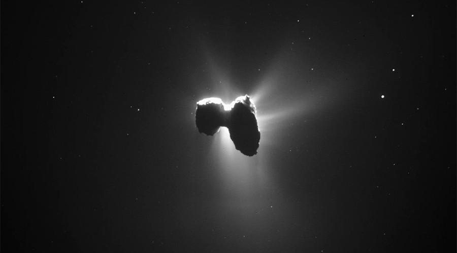 Rosetta's comet: Orbiter takes fabulous photo of celestial object