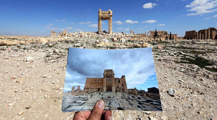 Image result for temple of bel destroyed
