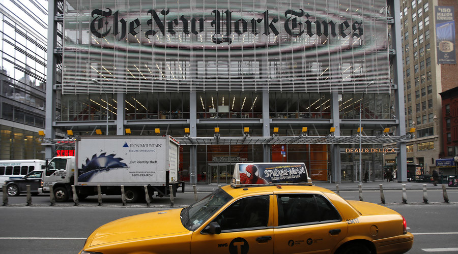 Sanction NYT now, Russia suggests after Ukraine pres. accuses newspaper of 'hybrid war'