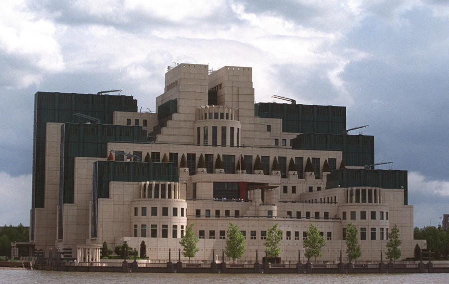 The headquarters of Britain's Secret Intelligence Service (MI6) © Reuters