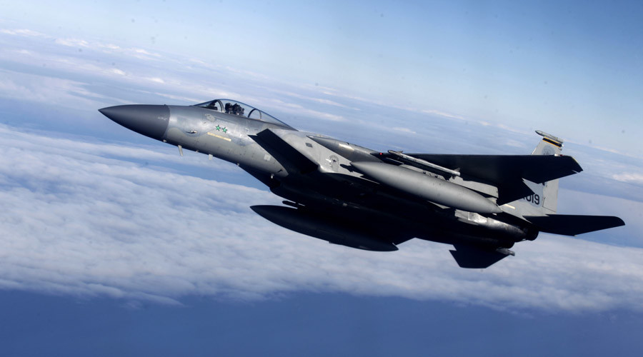 US deploys F-15s to Iceland, Netherlands