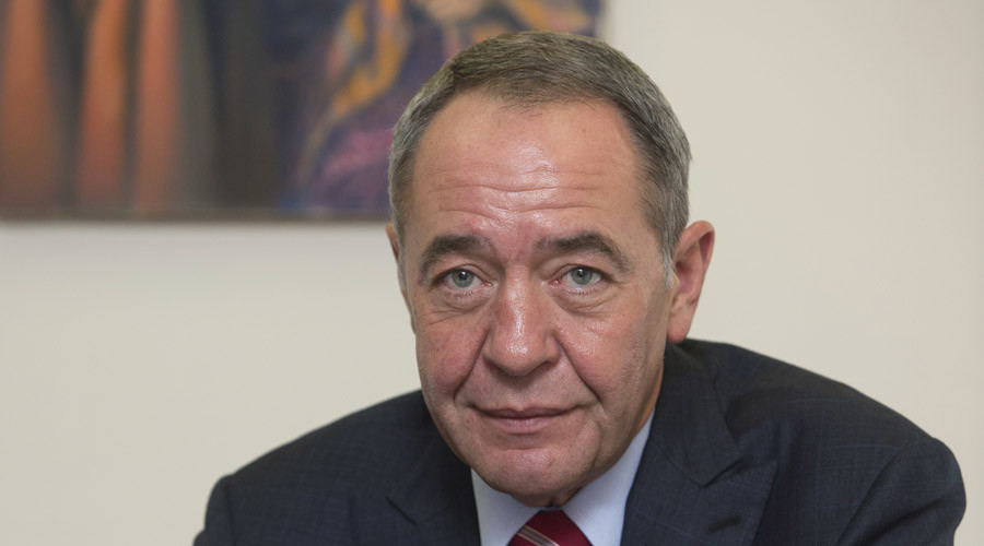 Gazprom-Media General Director Mikhail Lesin. © Iliya Pitalev
