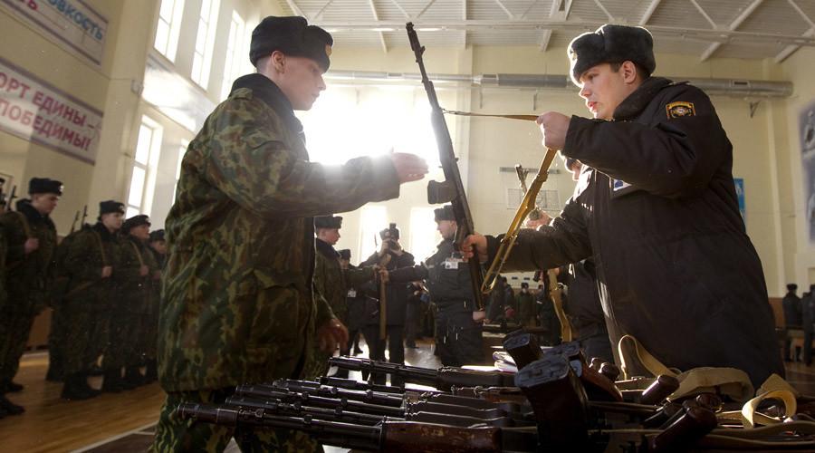 Belarussian soldiers © Vasily Fedosenko