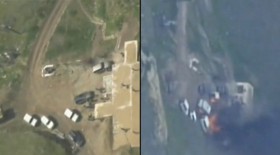 Azerbaijan defense forces report destroying Armenian troops' command post (VIDEO)