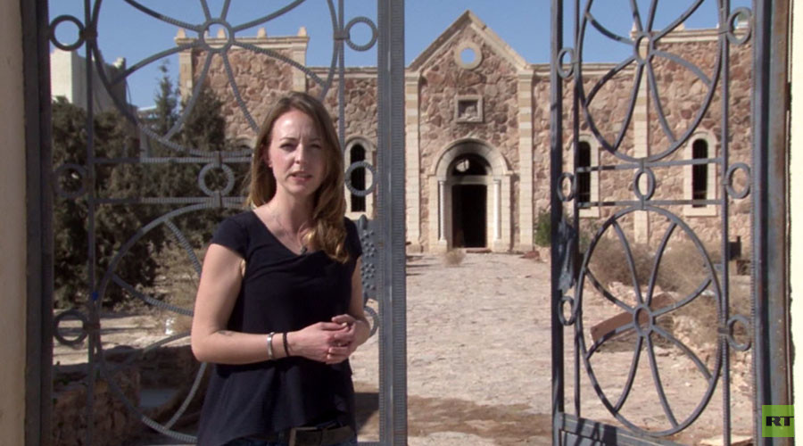 RT's Lizzie Phelan in the liberated Christian city of Al-Qaryatayn