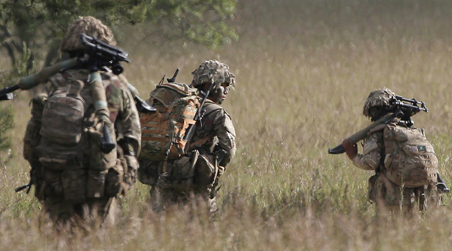 Military industrial complex: British Army teams up with big business to swell ranks