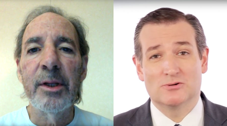 Harry Shearer (L) and Ted Cruz. © YouTube