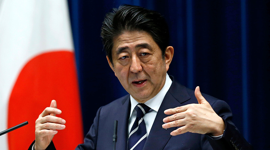 US presence in Japan 'necessary,' claims PM Abe