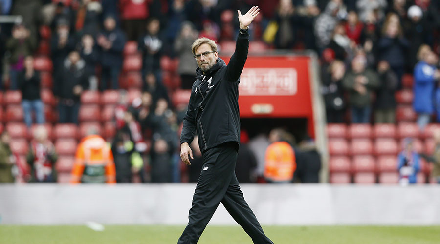 Liverpool manager Juergen Klopp. ©Stefan Wermuth