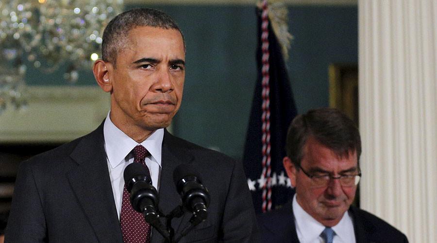 U.S. President Barack Obama and U.S. Defense Secretary Ash Carter. ©Reuters