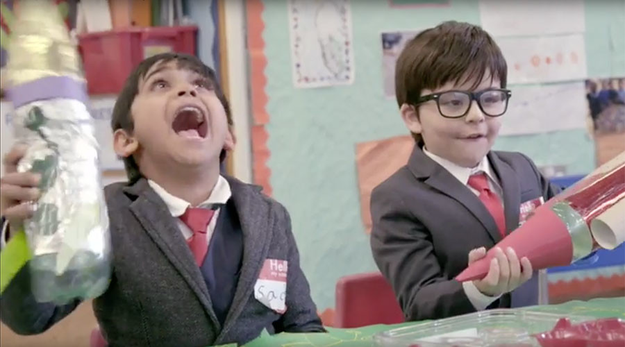 British politicians shown as squabbling children in hilarious Green Party broadcast (VIDEO)