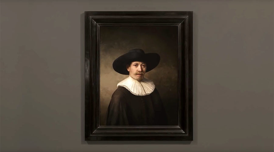 Ghost of Rembrandt: AI taught to paint like master Dutch artist (VIDEO)