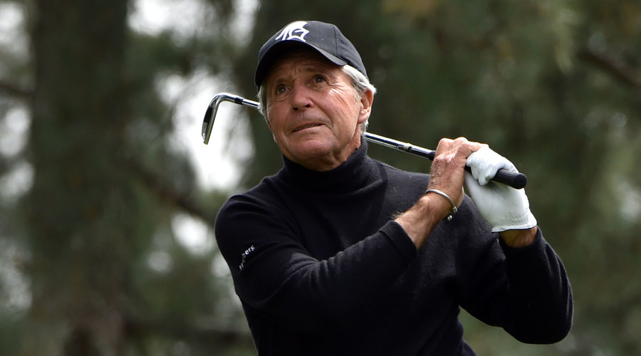 80-year-old Gary Player sinks hole-in-one at US Masters warm-up event (VIDEO)