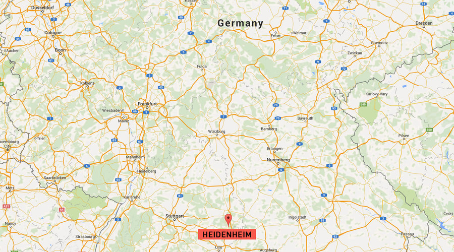 Shooting in southern German town leaves 2 people wounded