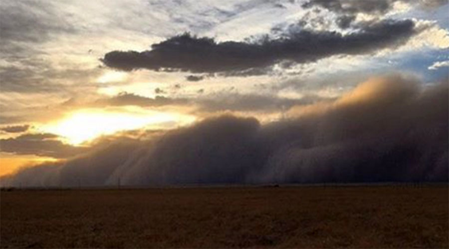Awesome footage shows ghostly dust storm taking over Texas (PHOTOS, VIDEO)