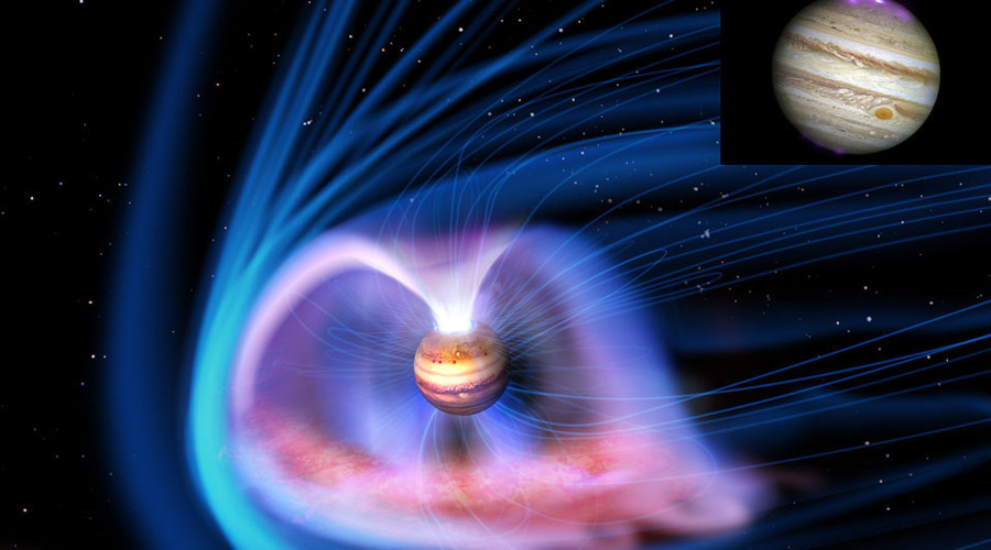Spectacular image shows Jupiter's magnificent auroras (PICTURE)