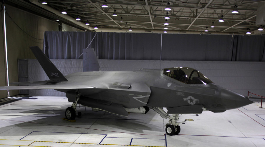 USAF general says F-35 appearance at air shows will be 'deterrent'