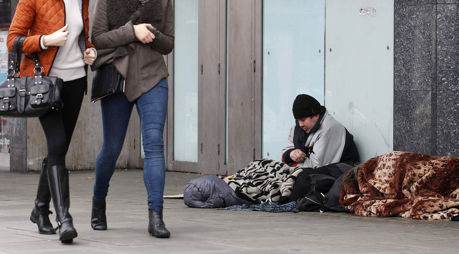 Homeless to be fined £50 for begging by English council