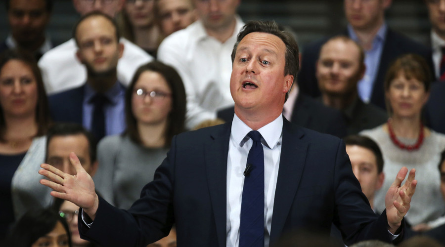 Britain's Prime Minister David Cameron. © Christopher Furlong