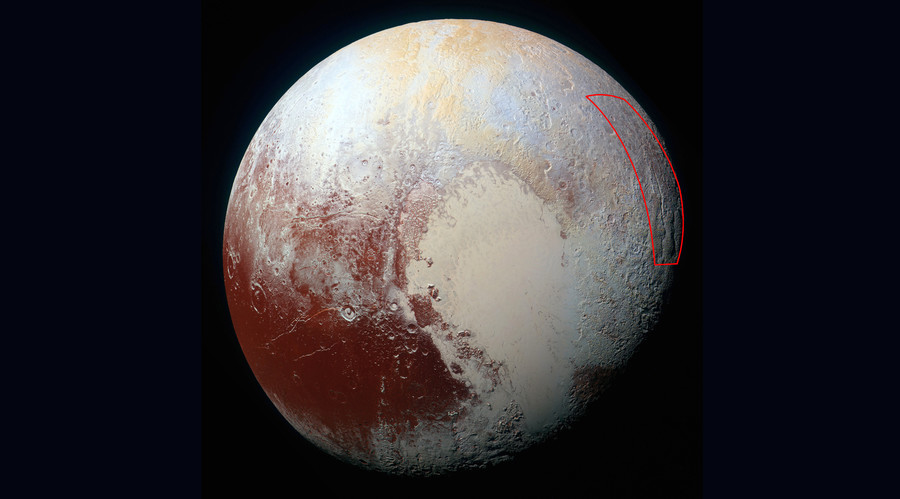Giant 'icy spider' captured on Pluto's surface in latest NASA image (PHOTO)