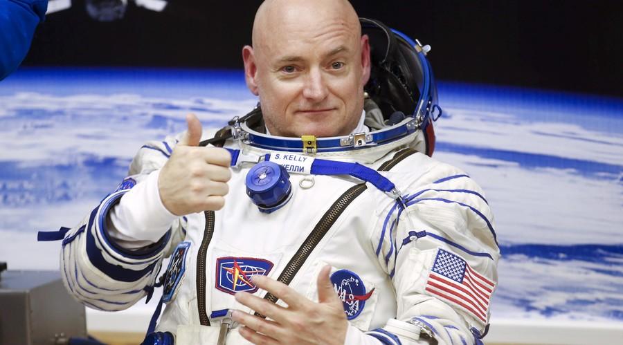 NASA astronaut Scott Kelly. ©